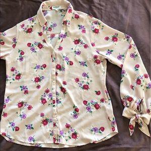 Express Floral Portfino Shirt